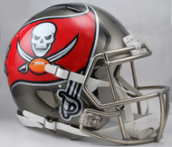 Tampa Bay Buccaneers NEW Riddell Full Size Authentic SPEED Helmet