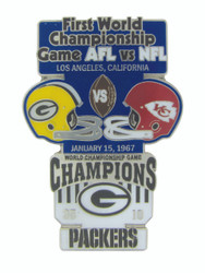 Super Bowl I (1) Commemorative Lapel Pin