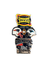 Super Bowl XXXVIII (38) Commemorative Lapel Pin