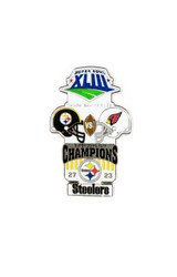 Super Bowl XLIII (43) Commemorative Lapel Pin