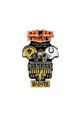 Super Bowl XLIV (44) Commemorative Lapel Pin