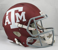 Texas A&M SPEED Riddell Full Size Replica Helmet