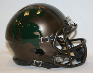 Michigan State Spartans Alternate Bronze Revolution SPEED Mini Helmet