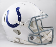 Indianapolis Colts NEW Riddell Full Size Authentic SPEED Helmet