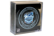 2016 Winter Classic Sherwood Official NHL Game Puck in Cube