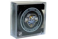 2016 NHL All-Star Game (Nashville, TN.) Sherwood Official NHL Game Puck in Cube