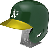 Oakland A's MLB REPLICA Full Size Batting Helmet ヨ LEC