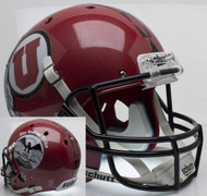 Utah Utes Alternate 8 PROUD Indian Tribe Schutt Full Size Replica Helmet