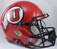 Utah Utes SPEED Riddell Full Size Replica Helmet