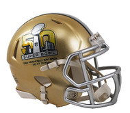 Super Bowl 50 Replica SPEED Mini Helmet