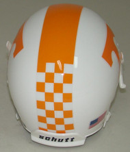 Tennessee Volunteers Alternate Checker Schutt Mini Authentic Helmet