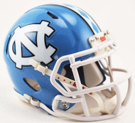 North Carolina Tar Heels 2015 NCAA Riddell SPEED Mini Helmet