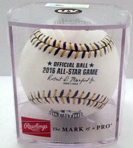 2016 MLB All-Star Game Rawlings Official Baseball in Cube