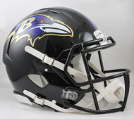 Baltimore Ravens NEW Riddell Full Size Authentic SPEED Helmet