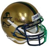Notre Dame Fighting Irish Alternate 2015 Boston Textured with Shamrock Schutt Mini Authentic Helmet