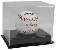 DELUXE ACRYLIC SOFTBALL DISPLAY CASE