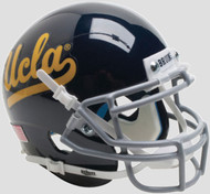 UCLA Bruins Alternate Black Schutt Mini Authentic Helmet