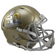 Super Bowl 50 Riddell SPEED REPLICA Full Size Helmet