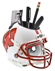 Wisconsin Badgers Mini Helmet Desk Caddy by Schutt