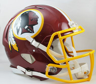 Washington Redskins NEW Riddell Full Size Authentic SPEED Helmet
