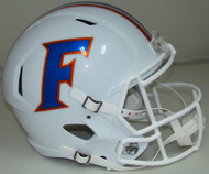 Florida Gators Alternate 2015 White SPEED Riddell Full Size Replica Helmet
