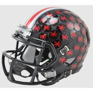 Ohio State Buckeyes 2015 BLACK Alternate Special Speed Mini Helmet