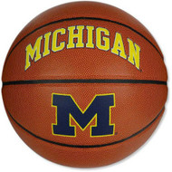 Michigan Wolverines Official Full Size Logo Basketball