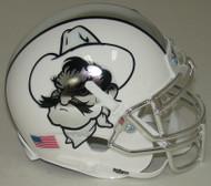 Oklahoma State Cowboys Icy Pistol Pete Schutt Mini Authentic Helmet