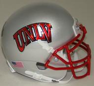UNLV Runnin Rebels Alternate Silver Schutt Mini Authentic Helmet