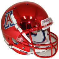 Arizona Wildcats Alternate Red Chrome Schutt Full Size Replica Helmet