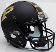 Purdue Boilermakers Alternate Black Schutt Full Size Replica Helmet