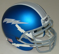 Air Force Falcons Alternate 7 Blue Grey Schutt Mini Authentic Helmet