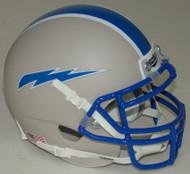 Air Force Falcons Alternate 6 Grey Schutt Mini Authentic Helmet