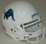 Buffalo Bulls Alternate White Schutt Mini Authentic Helmet