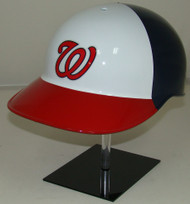 Washington Nationals Special Red White & Blue Rawlings NEC Full Size Baseball Batting Helmet