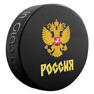 2016 World Cup of Hockey Team Russia Logo Souvenir Hockey Puck