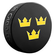 2016 World Cup of Hockey Team Sweden Logo Souvenir Hockey Puck