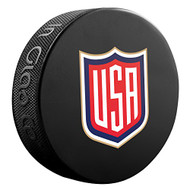 2016 World Cup of Hockey Team USA Logo Souvenir Hockey Puck