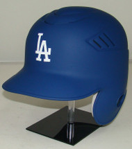 Los Angeles Dodgers MATTE BLUE Rawlings LEC Coolflo Full Size Baseball Batting Helmet