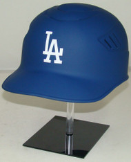 Los Angeles Dodgers MATTE BLUE Rawlings NEC Coolflo Full Size Baseball Batting Helmet