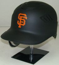 San Francisco Giants MATTE BLACK Rawlings REC Coolflo Full Size Baseball Batting Helmet