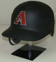 Arizona Diamondbacks Matte Black Rawlings REC Full Size Baseball Batting Helmet