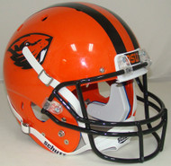 Oregon State Beavers Alternate Orange Beaver Schutt Full Size Replica Helmet