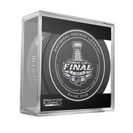 2016 NHL Stanley Cup Finals Playoff Sherwood Official Game Puck - Game 5 (Five)