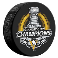 2016 Pittsburgh Penguins NHL Stanley Cup Champions Sherwood Souvenir Puck