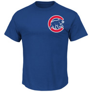 Anthony Rizzo Chicago Cubs Majestic Official Name and Number YOUTH T-Shirt - Royal