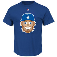 Clayton Kershaw Los Angeles Dodgers Majestic Official Name and Number YOUTH T-Shirt - EMOJI