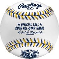 2016 MLB All-Star Game Rawlings Official Baseballs (Dozen)