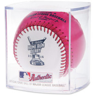 2016 MLB All-Star Game Rawlings Official Pink Home Run Derby Moneyball Baseball In Cube