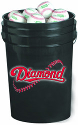 Diamond 30 Bucket Combo (includes 30 DBX Practice Baseballs)